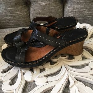 Ariat Wedge Sandals Shoes Woman's 8